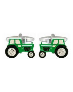 Dalaco Green Tractor Cufflink product image