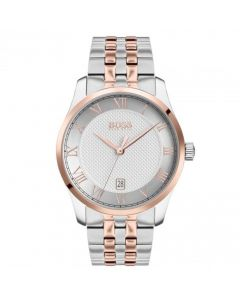 BOSS by HUGO BOSS Two Tone Master Watch face and dial