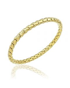 Chimento 18ct Gold Medium Stretch Spring Bracelet