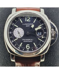 Preowned Gents Panerai Luminor GMT Watch