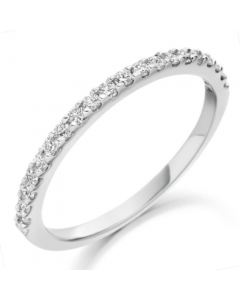 Charles Green 18ct White Gold and 0.30ct Diamond Ring