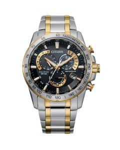 Citizen Eco-Drive Gents Perpetual Chronograph Atomic Timekeeping Watch