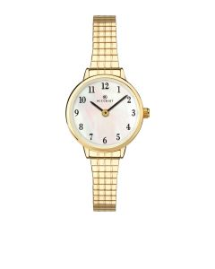 Accurist Ladies Gold Expandable Watch