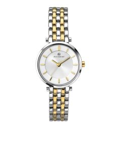 Accurist Ladies Two Colour Round Watch