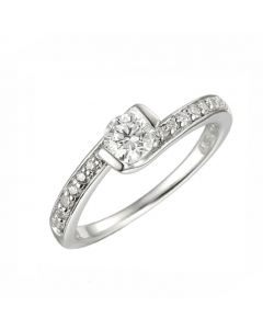 Amore 'Amour' Sterling Silver Ring