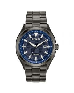 Citizen Eco-Drive Blue/Grey Men's Watch