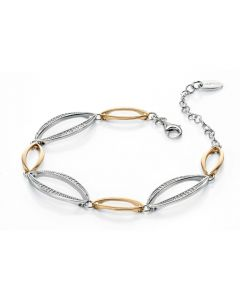 Fiorelli Alice Silver And Gold Bracelet