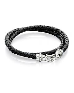 Fred Bennett Wrap Around Leather Bracelet