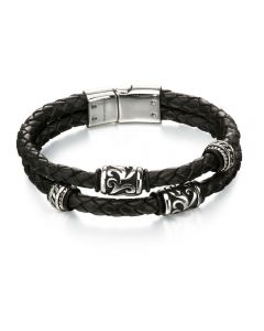 Fred Bennett Double Layer Tribal Bracelet