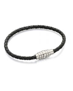 Fred Bennett Skinny Leather Bracelet - 19cm
