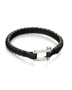 Fred Bennett Leather Clasp Bracelet