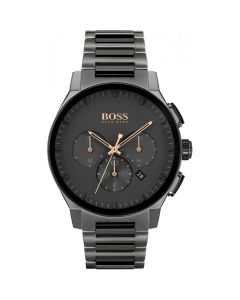 BOSS Watches Men's Charcoal Peak Chronograph Watch
