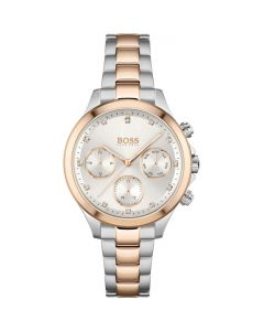 BOSS Watches Two Tone Ladies Hera Chronograph Watch