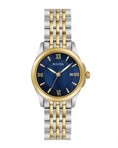 Bulova Classic Blue Mother-of-Pearl Ladies Watch