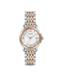 Ladies Bulova Mother Of Pearl Watch dial