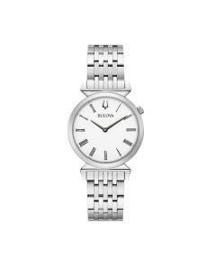 Bulova Classic Silver Gents Watch