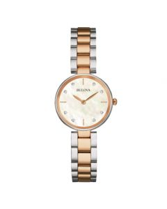Bulova Two Tone Classic Ladies Watch