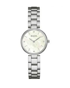 Women's Bulova Diamond Watch face dial