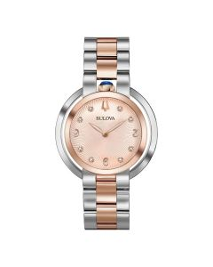 Women's Bulova Rubaiyat Watch face