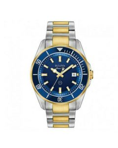 Men's Bulova Marine Star Blue Watch