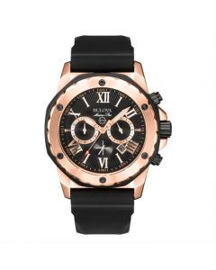 Bulova Marine Star Chronograph Watch face