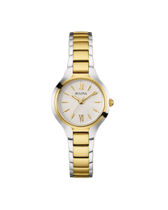 Bulova Classic Two-tone Ladies Watch