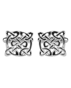 Celtic pattern cufflinks