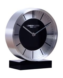 London Clock Company Silver Mantel Clock