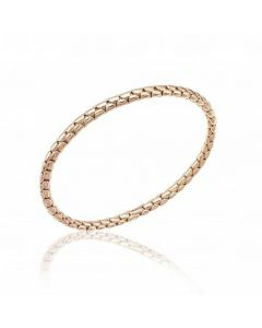 Chimento 18ct Rose Gold Stretch Bracelet