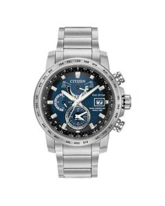 Citizen World Time A-T Men's Eco Drive Watch