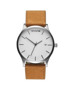 MVMT Classic White Gents Watch