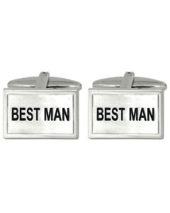 Best Man Cufflinks for a Wedding by Dalaco