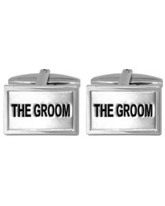 Dalaco Steel The Groom Cufflinks