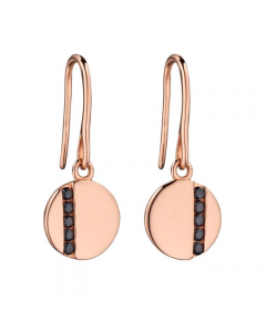 Fiorelli Rose Gold Plated Disc Earrings