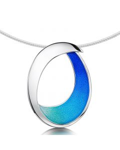 Sheila Fleet Sea and Surf Silver Necklace