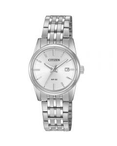 Womens Citizen Quartz Stainless Steel Eco-Drive