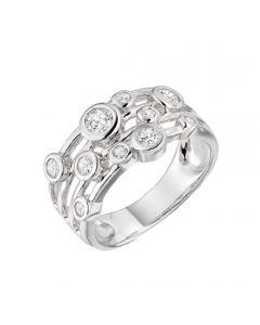 Amore Sterling Silver Fantasia Ring
