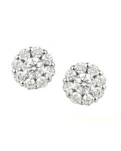 Amore Cubic Zirconia 'Sparklers' Earrings