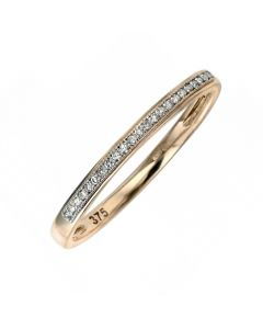 Elements Gold Diamond Eternity Ring 9ct Yellow