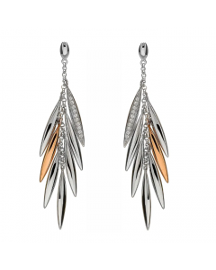 House of Lor Feather Earrings