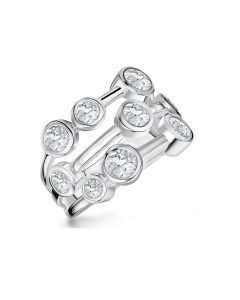 Jools By Jenny Brown Boodles Style Radiance Silver Ring