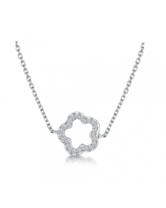 Jools By Jenny Brown Open Flower Necklace