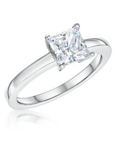 Jools by Jenny Brown 1.25ct Princess Cut Cubic Zirconia Ring
