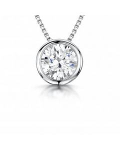 Jools By Jenny Brown Silver and Round Slider Pendant