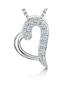 Jools By Jenny Brown Sterling Silver Tiny Heart Pendant