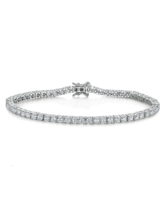 Jools By Jenny Brown Cubic Zirconia Tennis Bracelet