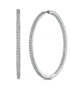 Jools by Jenny Brown Cubic Zirconia Hoops