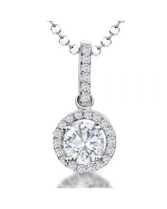 Jools by Jenny Brown Cubic Zirconia and Sterling Silver Pendant product image