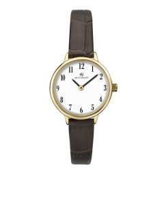 Accurist Ladies Brown Strap Watch