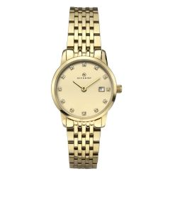 Ladies Accurist Gold Tone Watch